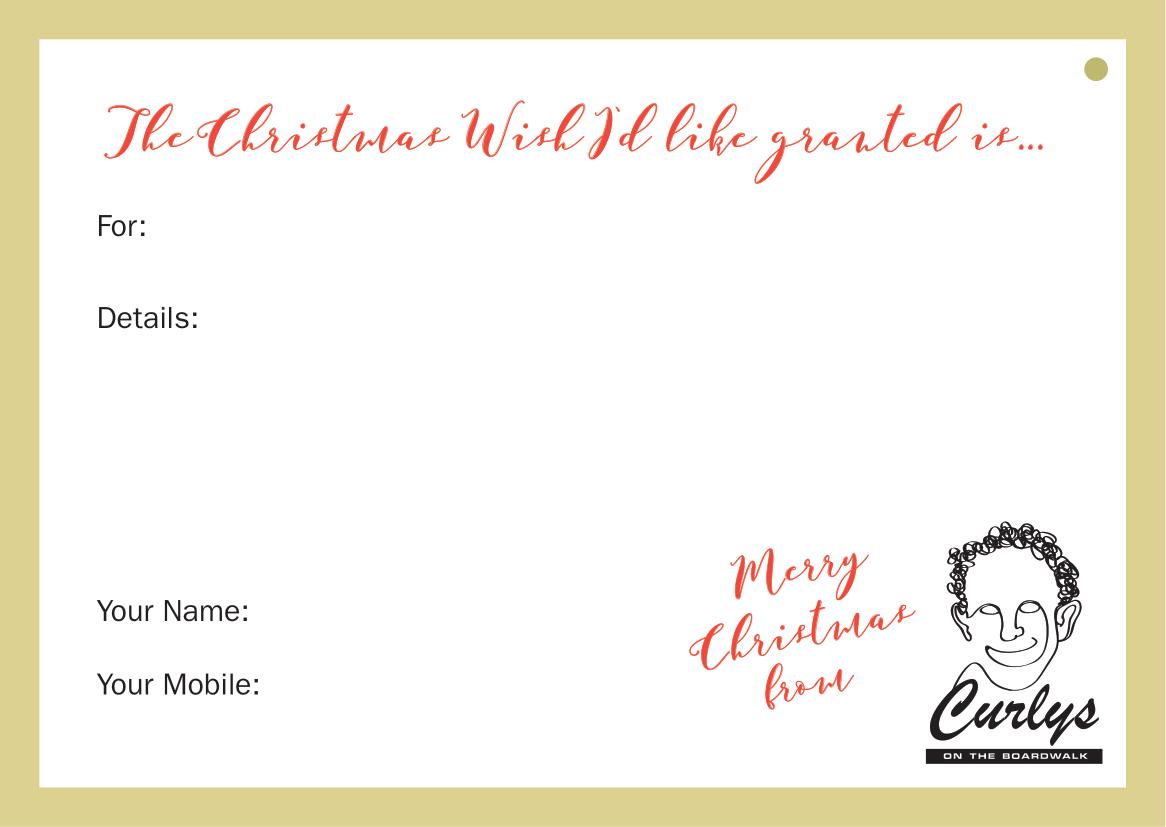 Christmas Wish Card 2